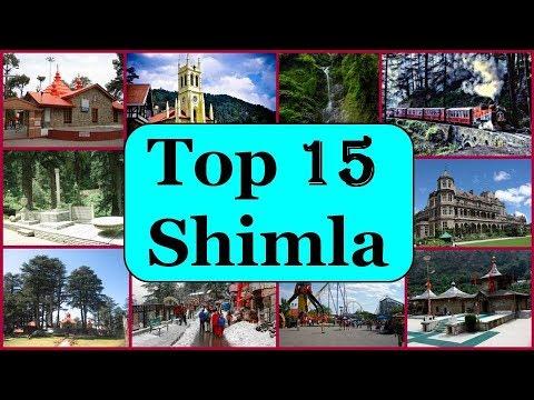 Shimla Tourism   Famous 15 Places To Visit In Shimla Tour
