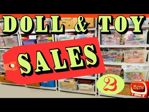 TOY and DOLL SALES: Monster High and Barbie Dolls