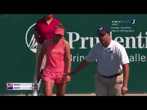 HIGHLIGHTS Ashleigh Barty VS Sofia Kenin 1/32 CHARLESTON OPEN 2018