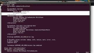 Tutoriel vidéo : installation d'apache, mysql, php et phpmyadmin sur un serveur dédié