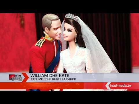 William dhe Kate tashmë edhe kukulla Barbie