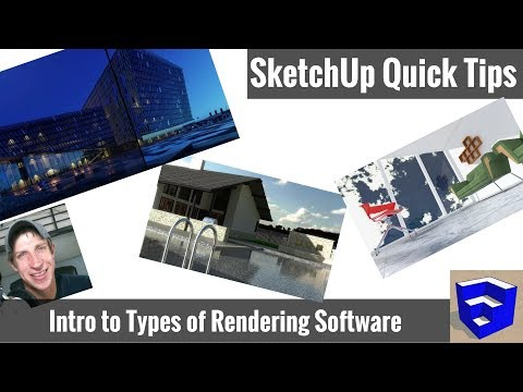 WHICH RENDERING SOFTWARE FOR SKETCHUP? Intro to Rendering Programs