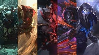 All Pyke Ultimate Sounds (All skins)