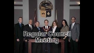 June 18, 2018: Regular Council Meeting