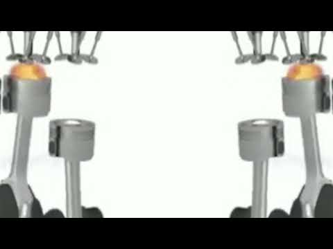 diesel engine working in hindi (Four Stroke Combustion Cycle)[engineering project]
