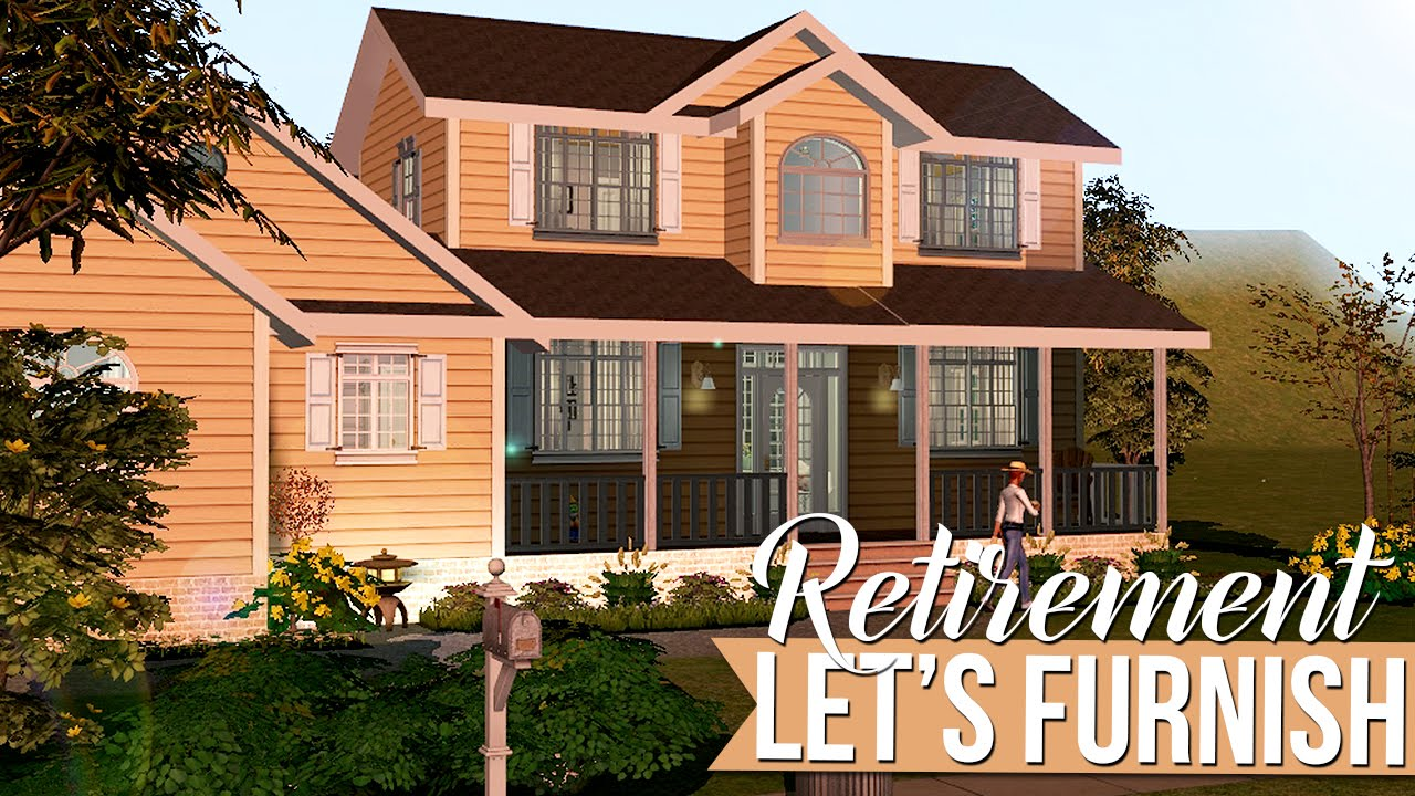 The sims 2 let 39 s furnish current household retirement for How to build a retirement home