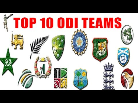 Top 10 ODI Teams | ICC ODI Ranking 2016 | Cricket Fan Club