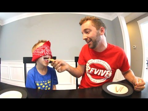 Thumbnail: FATHER SON WEIRD FOOD TEST!
