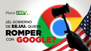 El gobierno de USA quiere romper a Google