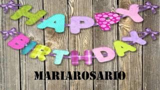 MariaRosario   wishes Mensajes