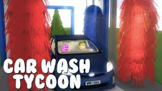 세~~~차~~~세~~차~~~세차장을 만들었어요!! 세차장 타이쿤!( car wash tycoon) 간단 리뷰 & 플레이 영상