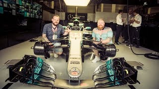 #BestFans Go Behind-the-Scenes at the 2017 F1 British GP!