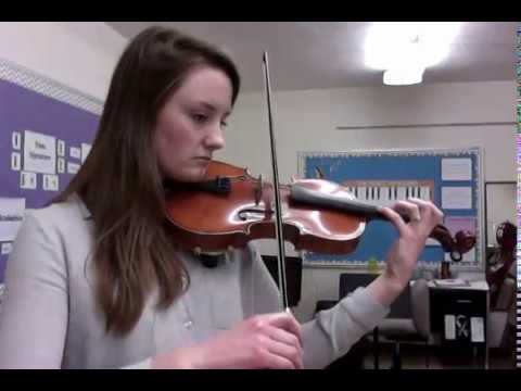 Simple Gifts Violin part B