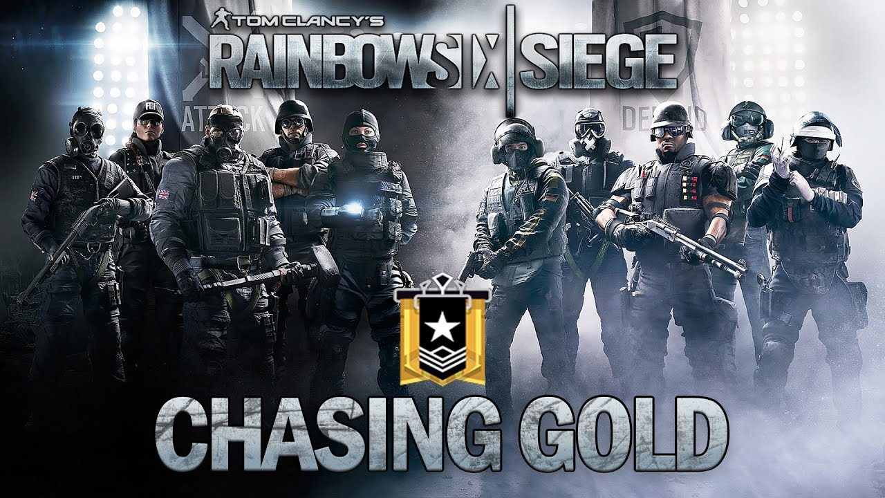 the grind to gold rook plays rainbow six siege. Black Bedroom Furniture Sets. Home Design Ideas