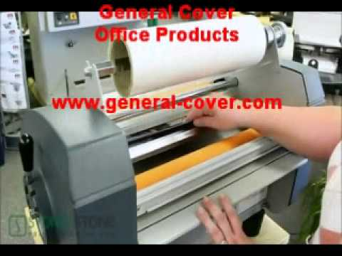 how to use royal sovereign laminator