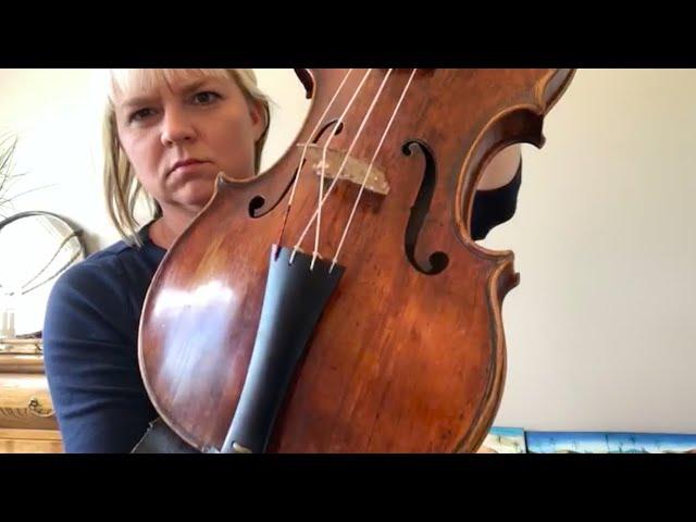 Julia Wedman - Exploring playing in scordatura and the music of Heinrich Ignaz Franz Biber