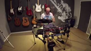 Uprising - Muse (Drum Cover by Josh Thatcher)