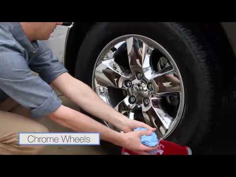 Wheel Cleaning - How to clean aluminum and chrome plated wheels on all FCA vehicles.