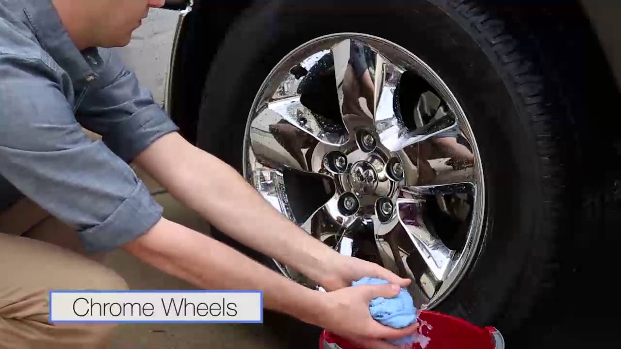 Wheel Cleaning - How to clean aluminum and chrome plated ...