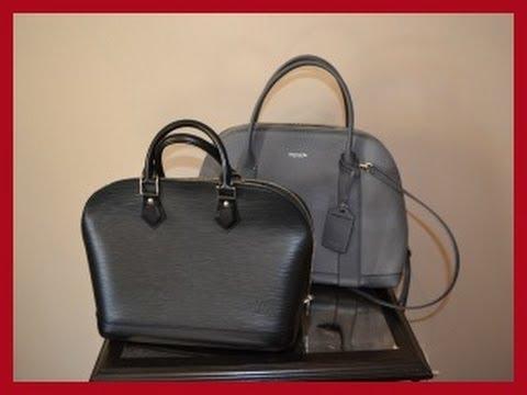 Bag Comparison  Coach Preston Satchel   Louis Vuitton Alma PM - YouTube 9ecff2892b8a9