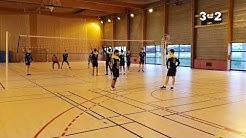 La Courneuve vs Franconville - Volleyball 2019 - M20 EP19