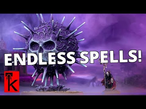 ENDLESS SPELLS DISCUSSION / How they work / Warhammer Age of Sigmar