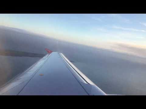 Smooth EasyJet takeoff from the Isle of Man