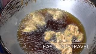 Thai style deep fried street food