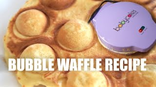 BUBBLE Waffles With a Cake Pop Maker Recipe - You Made What?!