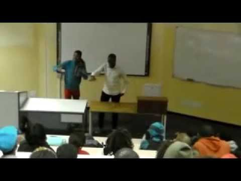 Siyabonga and Scelo  Mpungose  (DUT poetry 2013)