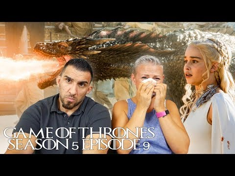 Game Of Thrones Season 5 Episode 9 'The Dance Of Dragons' REACTION!!