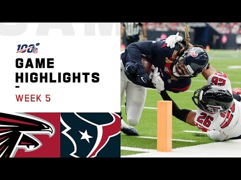 Falcons vs. Texans Week 5 Highlights | NFL 2019