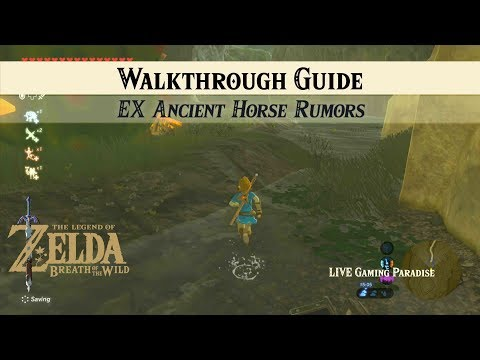 Breath Of The Wild | EX Ancient Horse Rumors [DLC] Side Mission