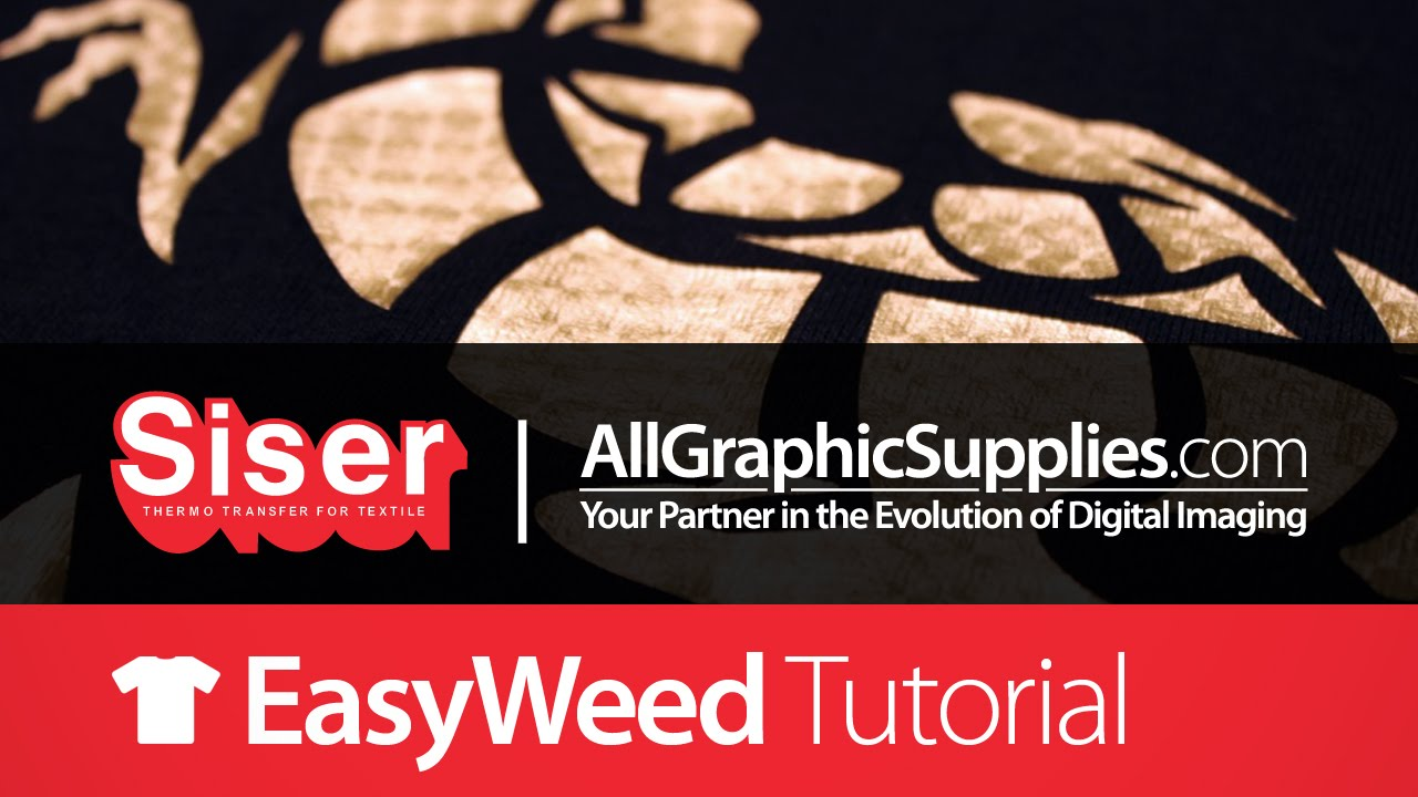 How to Apply Siser EasyWeed™ Electric Heat Transfer Vinyl - All Graphic  Supplies