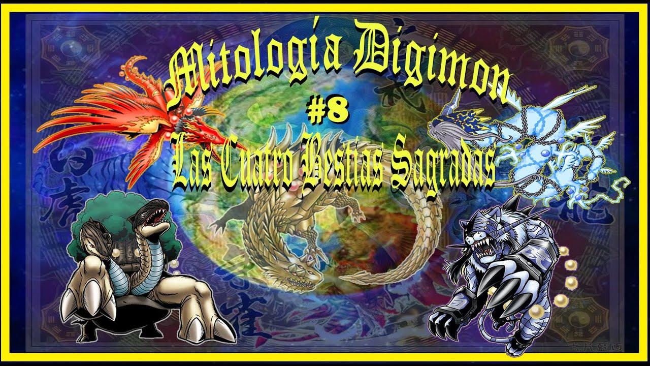 """Mitología Digimon #8 """"Las Cuatro Bestias Sagradas"""""""