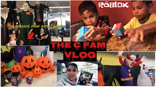 VLOG | UNBOXING ROBLOX FIGURES | SURPRISING HUSBAND WITH CALL OF DUTY BLACK OPS 4