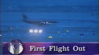 The First Passenger Flights at Denver International Airport