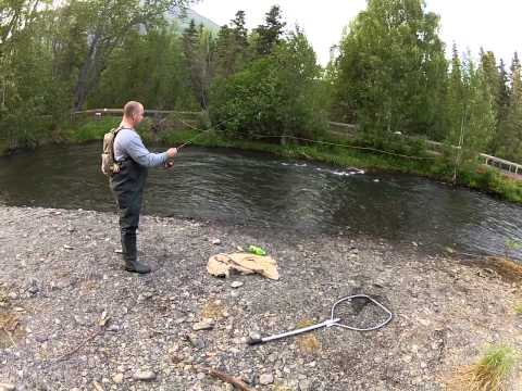 Full limit At the Russian River Alaska 2013