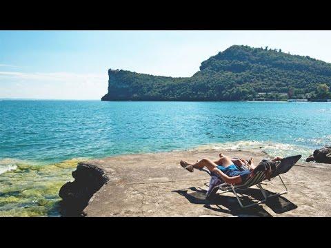 Camping La Rocca Manerba Del Garda Gardasee Italien Youtube