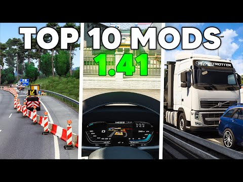 TOP 10 Mods for ETS2 1.41 |