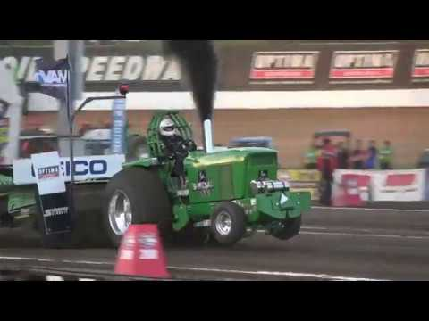 2019 Limited Pro Stock tractors pulling at the Lucas Oil Speedway