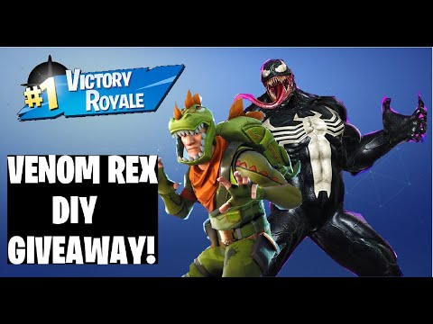 Custom Funko Pop Fortnite Venom Rex DIY Tutorial And Giveaway