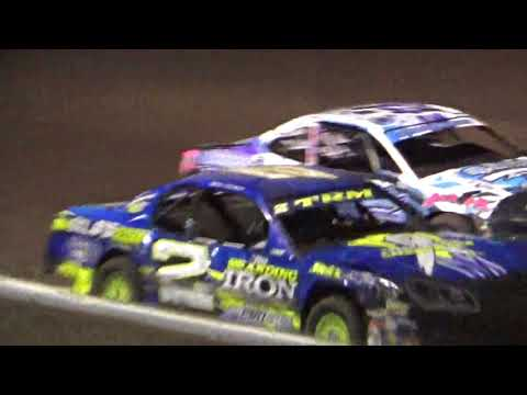 Stock Car Amain @ Hancock County Speedway 06/29/18