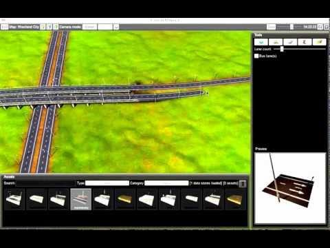 Cities in Motion 2 Gameplay - Building Highways  