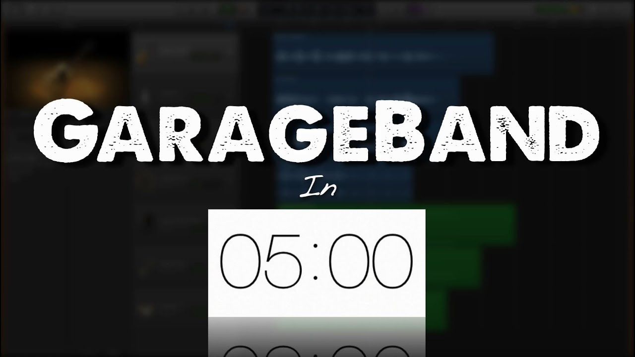 Garageband In 5 Minutes! (Write & Produce Music) | W  A