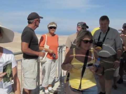 Masada - UNESCO World Heritage Centre - Dead Sea Region with Zahi Shaked 17.10.2011