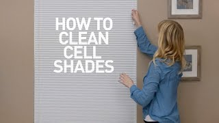 How To Clean Cellular Shades