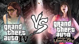 GTA IV vs GTA EFLC | Novedades (GTAInvasors)