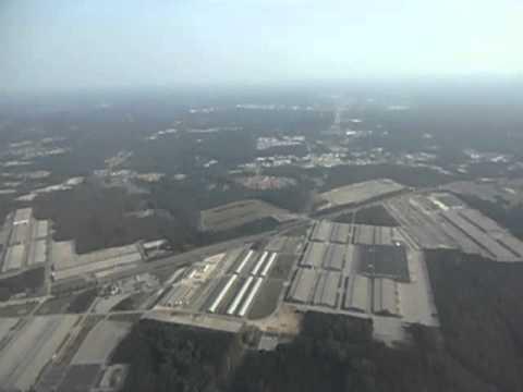 Takeoff Hartsfield Jackson Atlanta International Airport, Georgia USA