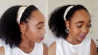 Easy halo braid hairstyle tutorial